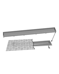 Jaclo 6226 - Tile Grate Only