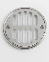 Jaclo 6230 3-3/8-inch Diameter Shower Drain Plate with Screws