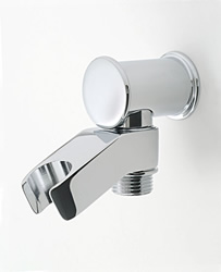 Jaclo 6418 Deluxe Water Supply Elbow with Handshower Holder