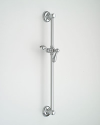 Jaclo 7724 24-inch Retro Lever Handle Wall Bar with Adjustable Height and Angle
