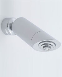 Jaclo S087-1.75 Sahara Low Flow Cylindrical Shower Head with 1-1/2-inch Face - 1.75 GPM