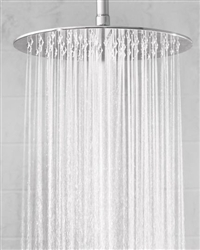 "Jaclo S212 - 12"" Round Brass Rain Machine® Shower Head"