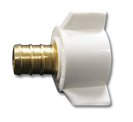 Kissler - 18-0405 - Pex Adapter 1/2-inch x 1/2-inch (25/bag)