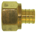 Kissler - 18-0410 - Pex Adapter 3/4-inch x 3/4-inch (25/bag)