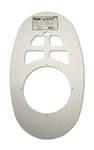 Kissler - 57-5020 - Toilet Cover Plate