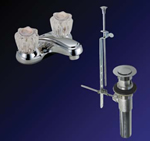 Kissler - 77-1106 - Dominion Lavatory Faucet with Pop Up