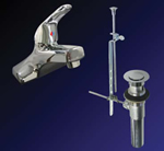 Kissler - 77-1181 - Dominion Lavatory Faucet with Pop Up