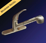 Kissler - 77-2110 - Dominion Pull Out Kitchen Faucet Satin Nickel