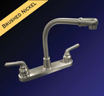 Kissler - 77-2891 - Dominion Kitchen Faucet less Spray Satin Nickel