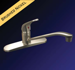 Kissler - 77-3850 - Dominion Kitchen Faucet less Spray Satin Nickel