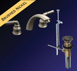 Kissler - 77-5505 - Dominion Wide Spread Faucet with Pop Up