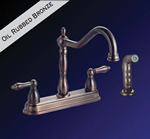 Kissler - 77-6606 - Dominion Kitchen Faucet with Spray Oil Rubbed Bronze