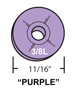 Kissler - KK-1356 - KolorKote Beveled Washer 11/16-inch 3/8L