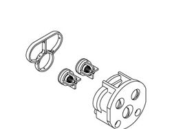Kohler 1074397 - Spacer Check Valve Kit