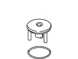 Kohler 21072-BN - Brushed Nickel Stopper Assembly