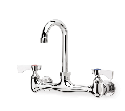 Krowne 12 802l Low Lead 8 Quot Wall Mount Faucet With 8 1 2