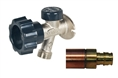 "Mansfield 491-04 by Prier 400 Series Wall Hydrant 491 Series - ½"" Wirsbo PEX"