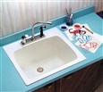 Mustee 10 Utility Sink - Add the convenience of a utility sink in virtually any room in your home. Model 10 is designed to look great in any décor.