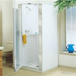 Mustee 140 & 142 - DURASTALL® Shower Stall, 36-inch x 36-inch