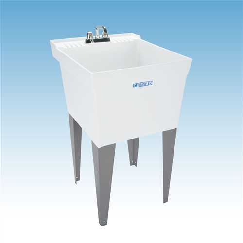 mustee 19f and 19w utilatub laundry utility tubs premier