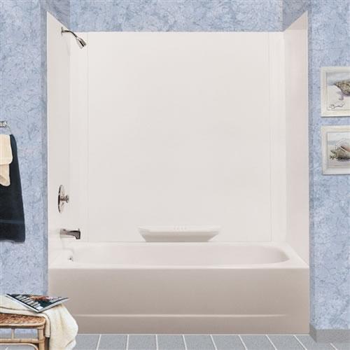 Mustee 350 Durawall 174 Fiberglass Bathtub Wall