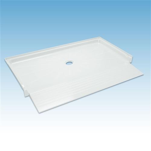 Mustee 3865 Barrier Free Durabase Shower Floor 38x65 White