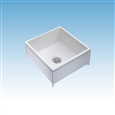 "Mustee 62M - MOP SERVICE BASIN 24X24X8 FOR 3"" DWV"