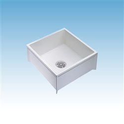 Mustee 63m Mop Service Basin 24x24x10 For 3 Dwv