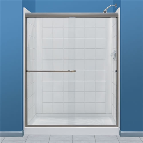 Mustee 760t 30wht Durawall Tile Shower Wall Wht 3 Ctns