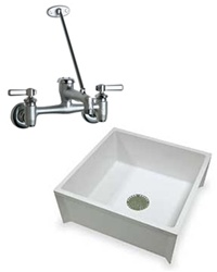 Chicago Faucets Mustee Service And Mop Sink Combo Deal