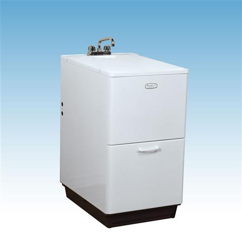 Mustee 94 Duratub Cabinet Tub White Handiflo