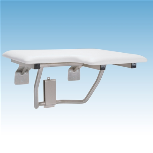 Mustee Wall Mount Fold Down Shower Seat