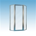 Mustee STYLEMATE Neo-Angle Shower Doors
