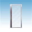 Mustee STYLEMATE® Pivot Doors For Square Showers
