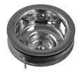 Pasco - 21907 - EZ ON Stainless Steel Basket Strainer