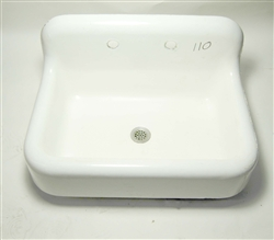 Kohler Vintage Cast Iron Sink With Backsplash