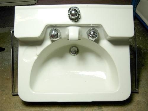 Crane Drexel Wall Mounted Sink 1950s