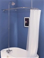 Strom Plumbing P0034EXT - Shower Enclosure Set with an Extended 57 x 31 inch Enclosure