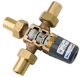 Symmons 5-225-CK-F Maxline™ Thermostatic Valve with 1/2 inch Female NPT inlets/outlet and integral checks