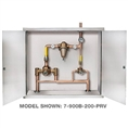Symmons 7-1000B-102-PRV - Symmons TempControl® Hi-Low Thermostatic Mixing Valve and Piping System in Cabinet