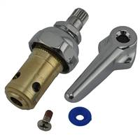 T&S Brass - 002711-40 - Eterna Spindle Assembly, Spring Check, Left Hand (Cold)