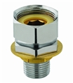 T&S Brass - 00CC - 1/2-inch NPT Male Inlet, 1-inch Long