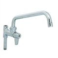 T&S Brass - 5AFL10 - Faucet, Add-On for Pre-Rinse, 10-inch Swivel Spout