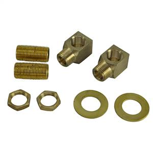 Brass - B-0230-K Installation Kit, 1/2-inch NPT Nipple with Lock ...