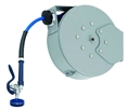 T&S Brass - B-7242-C01 - Hose Reel, Enclosed, Epoxy Coated Steel, 50'Hose, 3/8-inch ID with Spray Valve