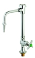 T&S Brass - BL-5707-01 - Lab Faucet, Single Temperature, Vandal Resistant, Rigid Vac. Breaker Nozzle, Serrated Tip