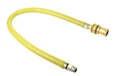 T&S Brass - HG-6C-60 - Gas Hose w/Reverse Quick Disconnect, 1/2-inch NPT, 60-inch Long
