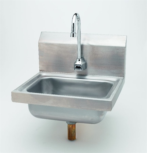 T Amp S Brass Ws 1100 Sink Package With Electronic Sensor Faucet