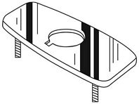 Chicago Faucets - 240.754.21.1 - COVER Plate IR FCT 4-inch
