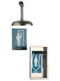Chicago Faucets - 9105-NF - DRENCH Shower              1